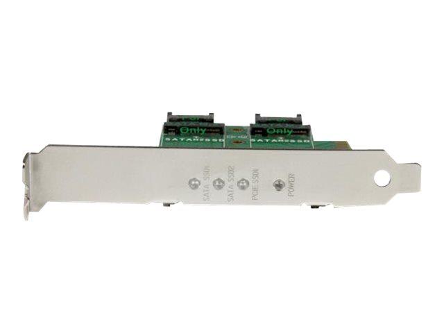 3Port M.2 NGFF SSD Card Adapter – PCIe 3.0 M.2 Card [ TT708265 ]