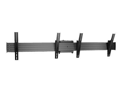 CHIEF New Fusion – Componente di montaggio (anello menu a soffitto) per video wall 2×1 – nero – dimensione schermo: 40″-55″ – interfaccia montaggio: fino a 800 x 400 mm [ TT711817 ]
