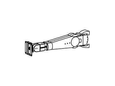 Braccio serie 400 Vertical Mount LCD Arm (grey) per LCD mag o ugale 24″, portata fino a 10.4Kg, sollevamento fino 61cm, inclinazione 180°, rotazione dx/sx e P/L 360° [ TT40553 ]