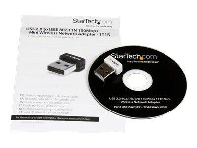802.11N USB Wireless LAN Card – 150 Mbps USB WiFi Dongle [ TT733039 ]