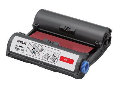 Epson RC-R1RNA – 1 – rosso – 100 mm x 30 m – nastro di stampa – per LabelWorks Pro100 [ TT227956 ]