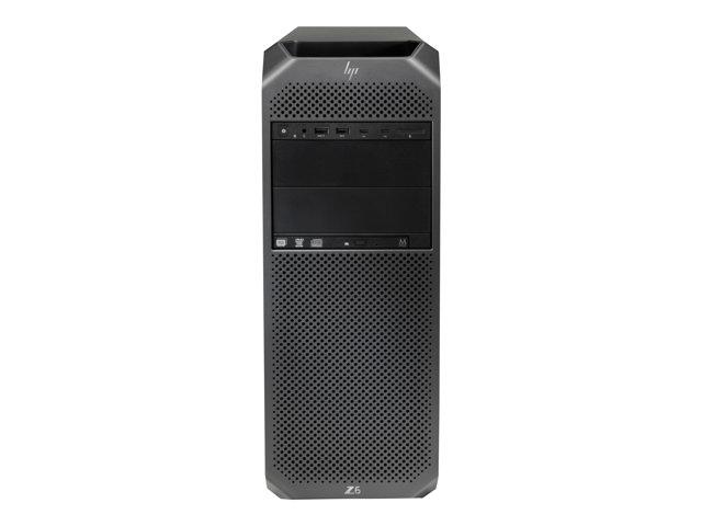 HP Workstation Z6 G4 – MT – 4U – 1 x Xeon Silver 4112 / 2.6 GHz – RAM 16 GB – SSD 512 GB – masterizzatore DVD – senza grafica – GigE – Win 10 Pro per Workstation 64-bit – vPro -monitor: nessuno – tastiera: Italiano [ TT791631 ]