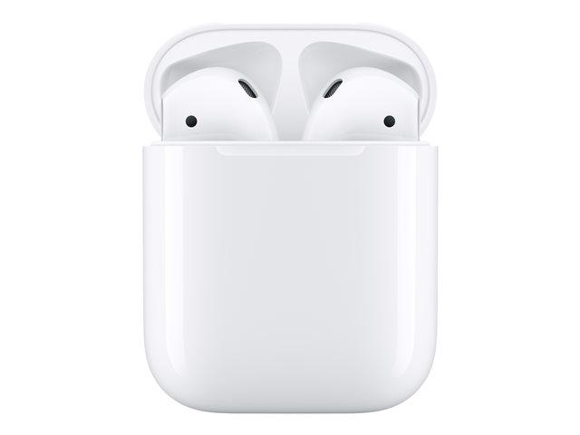 Apple AirPods with Charging Case – 2nd Generation – auricolari veramente wireless con microfono – auricolare – Bluetooth – per iPad/iPhone/iPod/TV/Watch [ TT799864 ]
