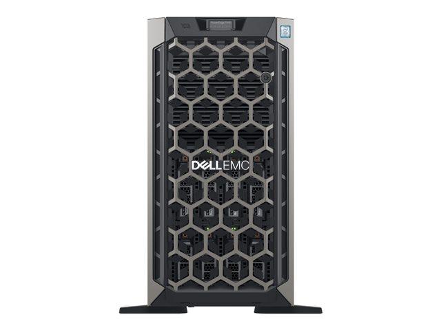 Dell EMC PowerEdge T440 – Server – tower – 5U – a 2 vie – 1 x Xeon Silver 4208 / 2.1 GHz – RAM 16 GB – SAS – hot-swap 3.5″ – SSD 240 GB – masterizzatore DVD – G200eR2 – GigE – senza SO -monitor: nessuno – BTP – con 3 Anni Basic Onsite [ TT794216 ]