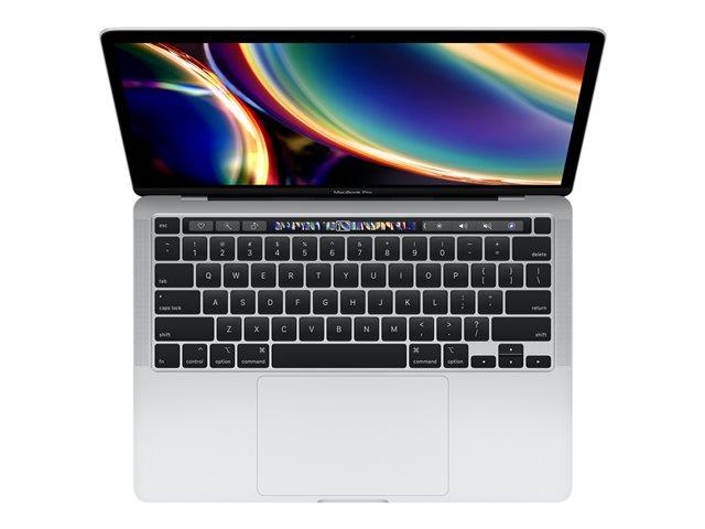 Apple MacBook Pro with Touch Bar – Core i5 2 GHz – macOS Catalina 10.15 – 16 GB RAM – 1 TB SSD – 13.3″ IPS 2560 x 1600 (WQXGA) – Iris Plus Graphics – Wi-Fi, Bluetooth – argento – tast: italiana [ TT802617 ]
