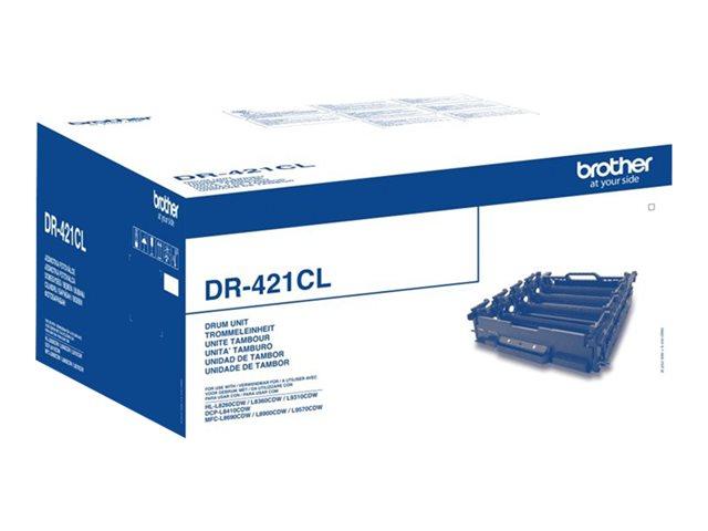 Brother DR421CL – Kit tamburo – per Brother DCP-L8410, HL-L8260, HL-L8360, HL-L9310, MFC-L9570 [ TT688859 ]