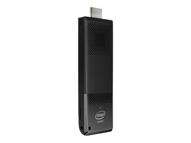 Intel Compute Stick STK1A32SC – Chiavetta – 1 x Atom x5 Z8300 / 1.44 GHz – RAM 2 GB – flash – eMMC 32 GB – HD Graphics – WLAN : 802.11a/b/g/n/ac, Bluetooth 4.0 LE – Monitor : nessuno [ TT148944 ]