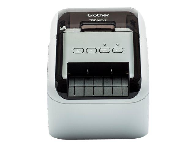 Brother QL-800 – Stampante per etichette – due colori (monocromatico) – carta termica – Rotolo (6,2 cm) – 300 x 600 dpi – fino a 93 etichette/min – USB 2.0 [ TT289359 ]