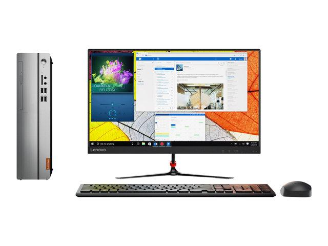 Lenovo IdeaCentre 310S-08ASR 90G9 – SFF Tower – A9 9425 / 3.1 GHz – RAM 8 GB – SSD 256 GB – TCG Opal Encryption – Radeon R5 – GigE – WLAN: Bluetooth 4.0, 802.11ac – Win 10 Home 64 bit -monitor: nessuno – tastiera: italiana [ TT800048 ]