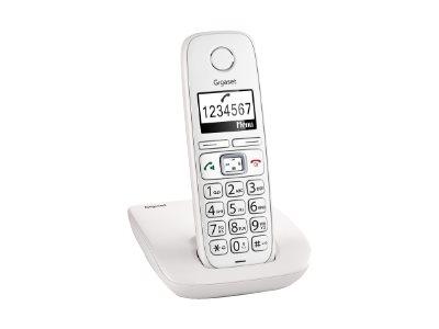 Gigaset E260 – Telefono cordless con ID chiamante – DECTGAP [ TT227315 ]