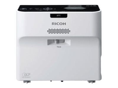 Ricoh PJ WX4152N – Proiettore DLP – portatile – 3D – 3500 lumen – WXGA (1280 x 800) – 16:10 – 802.11a/b/g/n wireless / LAN [ TT722893 ]