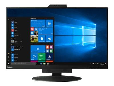 Lenovo ThinkCentre Tiny-in-One 27 – Monitor a LED – 27″ (27″ visualizzabile) – 2560 x 1440 – IPS – 350 cd/m² – 1000:1 – 4 ms – HDMI, DisplayPort – altoparlanti – nero [ TT791104 ]
