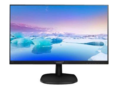 Philips V-line 223V7QHAB – Monitor a LED – 22″ (21.5″ visualizzabile) – 1920 x 1080 Full HD (1080p) – IPS – 250 cd/m² – 1000:1 – 5 ms – HDMI, VGA – altoparlanti – nero [ TT157046 ]