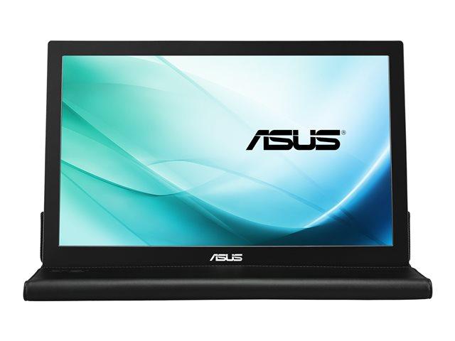 ASUS MB169B+ – Monitor a LED – 15.6″ – portatile – 1920 x 1080 Full HD (1080p) – IPS – 200 cd/m² – 14 ms – USB – nero, argento [ TT154154 ]