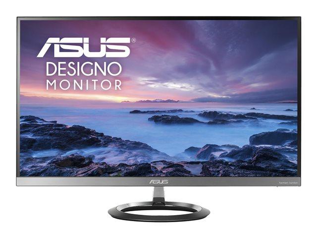 ASUS Designo MZ27AQ – Monitor a LED – 27″ – 2560 x 1440 WQHD – IPS – 350 cd/m² – 1000:1 – 5 ms – 2xHDMI, DisplayPort – altoparlanti con subwoofer – grigio [ TT553507 ]