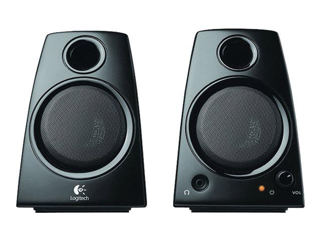 Logitech Casse Speakers Z130 Colore Nero – Potenza 5 W RMS (2 x 2,5 W) – Dimensioni: 141.7 mm x 100.6 mm x 110.3 mm – Lunghezza Cavo da destra a sinistra: 1,3 m Cavo per ingresso audio: 1,5 m Cavo adattatore: 1,8 m [ TT45205 ]