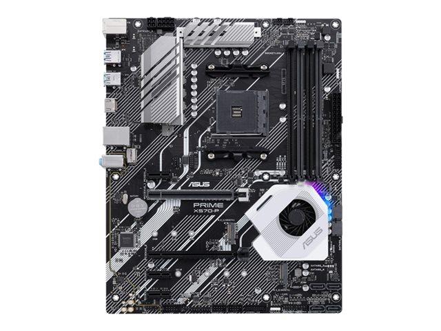 ASUS PRIME X570-P – Scheda madre – ATX – Socket AM4 – AMD X570 – USB 3.2 Gen 1, USB 3.2 Gen 2 – Gigabit LAN – scheda grafica (richiesta CPU) – HD Audio (8 canali) [ TT792545 ]