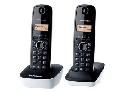 Panasonic KX-TG1612JTW – Telefono cordless con ID chiamante – DECT + ricevitore aggiuntivo [ TT227157 ]