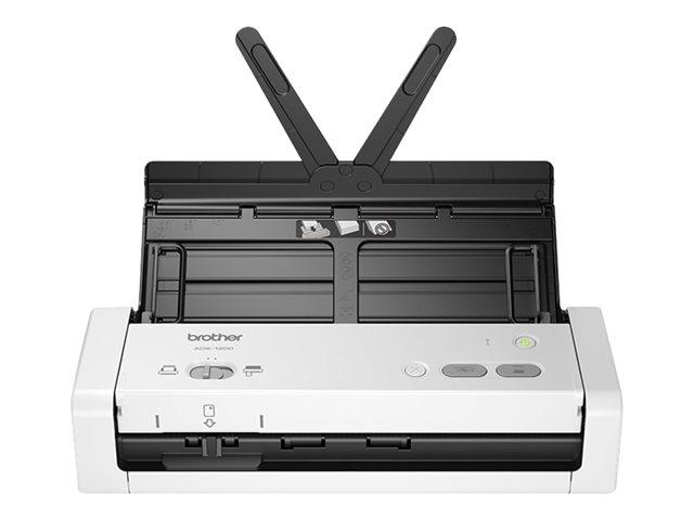 Brother ADS-1200 – Scanner documenti – Duplex – A4 – 600 dpi x 600 dpi – fino a 25 ppm (mono) / fino a 25 ppm (colore) – ADF (Alimentatore automatico documenti) (20 fogli) – fino a 1000 scansioni al giorno – USB 3.0, USB 2.0 (Host) [ TT722311 ]