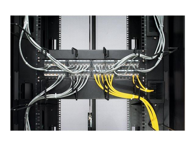 1U Horizontal Cable Organizer Black [ TT20351 ]