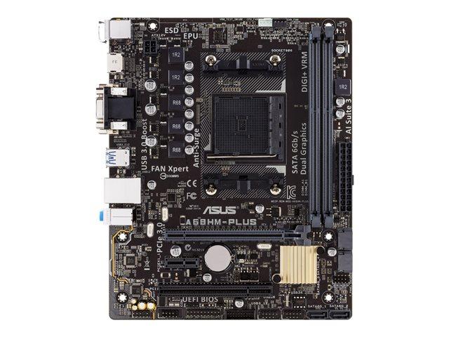 ASUS A68HM-PLUS – Scheda madre – micro ATX – Socket FM2+ – AMD A68H – USB 3.0 – Gigabit LAN – scheda grafica (richiesta CPU) – HD Audio (8 canali) [ TT146985 ]