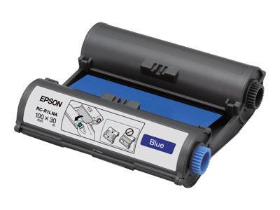 Epson RC-R1LNA – 1 – blu – 100 mm x 30 m – nastro di stampa – per LabelWorks Pro100 [ TT227955 ]
