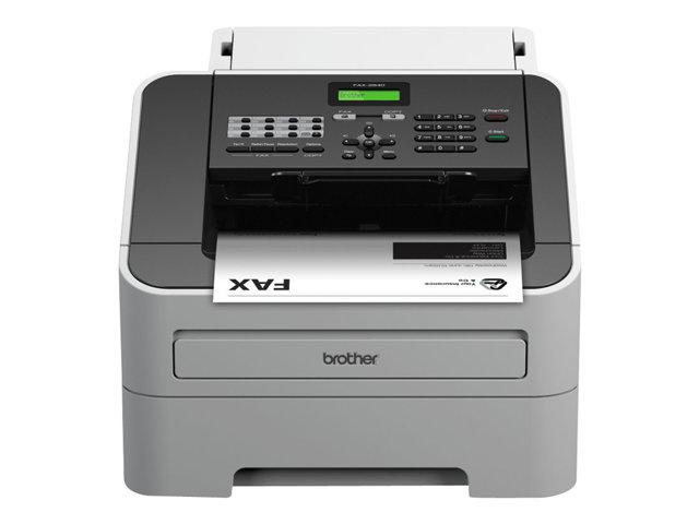 Brother FAX-2840 – Fax / copiatrice – B/N – laser – 215.9 x 355.6 mm (originale) – 216 x 406.4 mm (supporti) – fino a 20 ppm (copia) – 250 fogli – 33.6 Kbps [ TT715413 ]