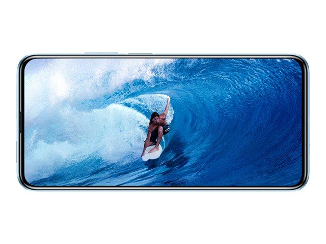 Huawei P Smart Pro – Smartphone – dual SIM – 4G LTE – 128 GB – microSDXC slot – GSM – 6.59″ – 2340 x 1080 pixel (391 ppi) – LTPS TFT – RAM 6 GB (fotocamera anteriore 16 MP) – 3 x fotocamere posteriori – Android – breathing crystal [ TT800891 ]