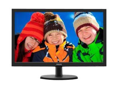 Philips V-line 223V5LSB2 – Monitor a LED – 21.5″ – 1920 x 1080 Full HD – 200 cd/m2 – 600:1 – 5 ms – VGA – nero testurizzato, black hairline [ TT54602 ]