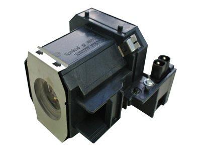 V7 – Lampada proiettore (equivalente a: Epson V13H010L35) – per Epson EMP-TW520, TW600, TW620, TW680; PowerLite Home Cinema 400, Pro Cinema 800 [ TT709033 ]