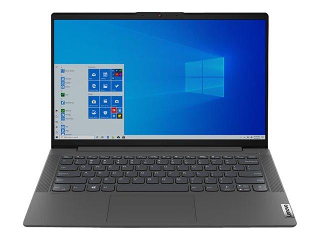 Lenovo IdeaPad 5 14IIL05 81YH – Core i5 1035G1 / 1 GHz – Win 10 Home 64 bit – 8 GB RAM – 512 GB SSD NVMe – 14″ IPS 1920 x 1080 (Full HD) – UHD Graphics – Wi-Fi, Bluetooth – grigio grafite – tast: italiana [ TT801274 ]