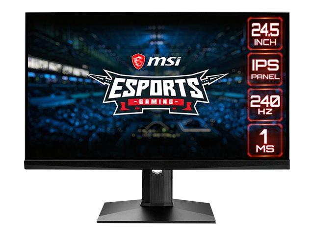 MSI Optix MAG251RX – Monitor a LED – 24.5″ – 1920 x 1080 Full HD (1080p) – IPS – 400 cd/m² – 1000:1 – 1 ms – 2xHDMI, DisplayPort, USB-C [ TT801624 ]