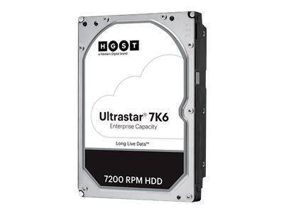 HGST Ultrastar 7K6 HUS726T4TALS201 – HDD – crittografato – 4 TB – interno – 3.5″ – SAS 12Gb/s – 7200 rpm – buffer: 256 MB – TCG Encryption [ TT786250 ]