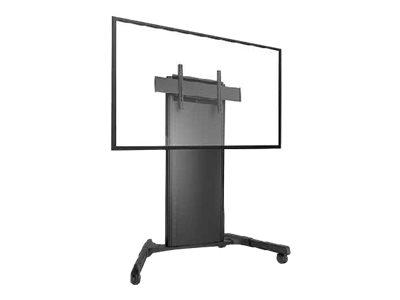 CHIEF X-Large FUSION – Carrello per Monitor – acciaio – nero – dimensione schermo: 55″-100″ [ TT713209 ]