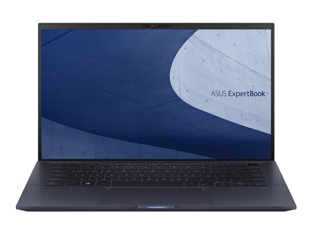 ASUS ExpertBook B9450FA BM0252R – Core i7 10510U / 1.8 GHz – Win 10 Pro – 16 GB RAM – 1 TB SSD NVMe – 14″ 1920 x 1080 (Full HD) – UHD Graphics 620 – Bluetooth, Wi-Fi – nero stellato [ TT802984 ]