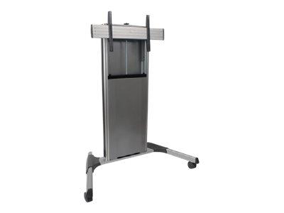 CHIEF X-Large FUSION – Carrello per Monitor – acciaio – argento – dimensione schermo: 55″-100″ [ TT713208 ]