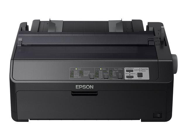 Epson LQ 590IIN – Stampante – in bianco e nero – matrice a punti – Rotolo (21,6 cm), JIS B4, 254 mm (larghezza) – 360 x 180 dpi – 24 pin – fino a 584 car/sec – parallela, USB 2.0, LAN, seriale [ TT707505 ]