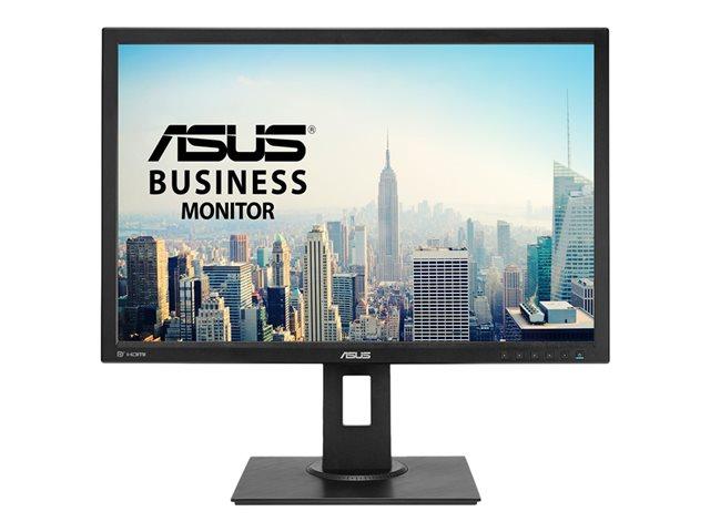 ASUS BE24AQLBH – Monitor a LED – 24.1″ – 1920 x 1200 – IPS – 300 cd/m² – 1000:1 – 5 ms – HDMI, DVI-D, VGA, DisplayPort – altoparlanti – nero [ TT689778 ]