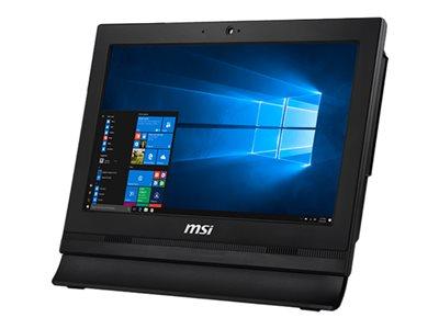 MSI Pro 16T 7M 087XEU – All-in-one – Celeron 3865U / 1.8 GHz – RAM 4 GB – SSD 256 GB – HD Graphics 610 – GigE – WLAN: 802.11a/b/g/n/ac, Bluetooth 4.2 – senza SO -monitor: LED 15.6″ 1366 x 768 (HD) touchscreen [ TT803015 ]