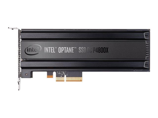 Intel Optane SSD DC P4800X Series – SSD – crittografato – 750 GB – 3D Xpoint (Optane) – interno – scheda PCIe (HHHL) – PCI Express 3.0 x4 (NVMe) – 256 bit AES [ TT794867 ]