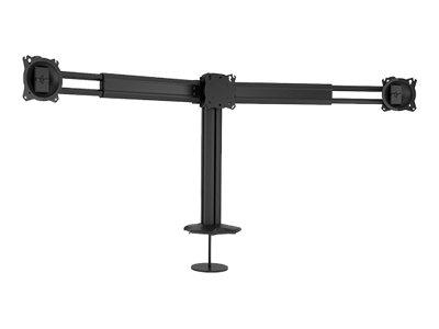 CHIEF Kontour K3 G310B – Kit montaggio (montatura con anello di tenuta, 2 guide telescopiche) per 3 schermi LCD (telescopica) – nero – dimensione schermo: 27″-30″ – desktop [ TT711393 ]