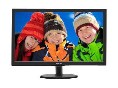 Philips V-line 223V5LHSB2 – Monitor a LED – 22″ – 1920 x 1080 Full HD – 200 cd/m2 – 600:1 – 5 ms – HDMI, VGA – nero testurizzato, black hairline [ TT139362 ]