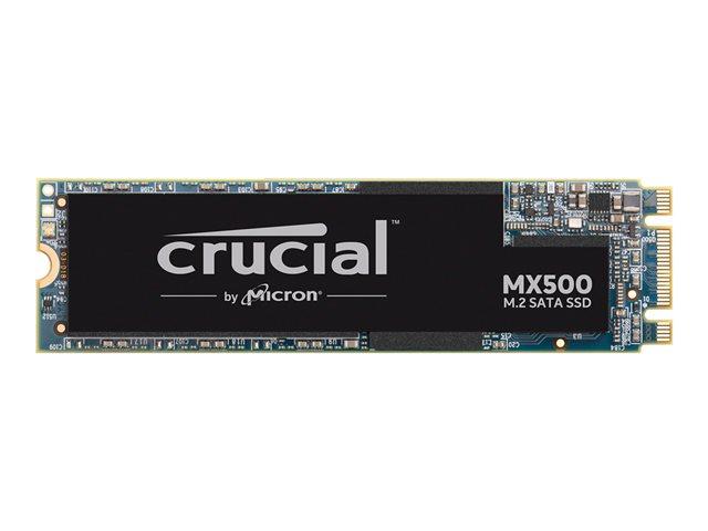 Crucial MX500 – SSD – crittografato – 500 GB – interno – M.2 2280 – SATA 6Gb/s – 256 bit AES – TCG Opal Encryption 2.0 [ TT801733 ]