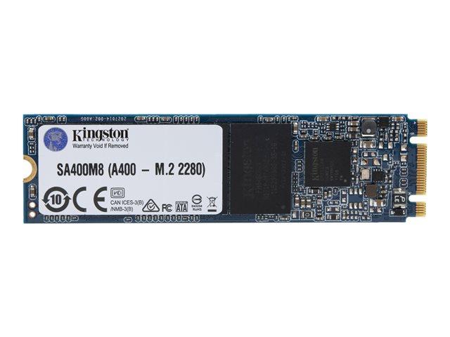 Kingston A400 – SSD – 480 GB – interno – M.2 2280 – SATA 6Gb/s [ TT797989 ]