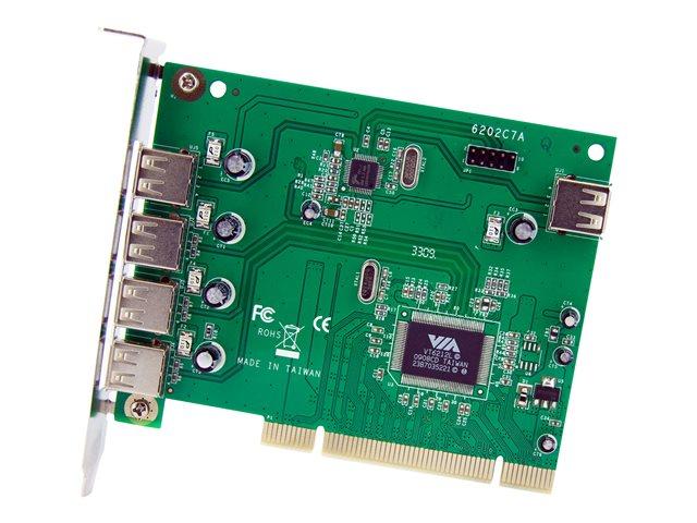 7 Port PCI USB 2.0 Adapter Card [ TT718489 ]