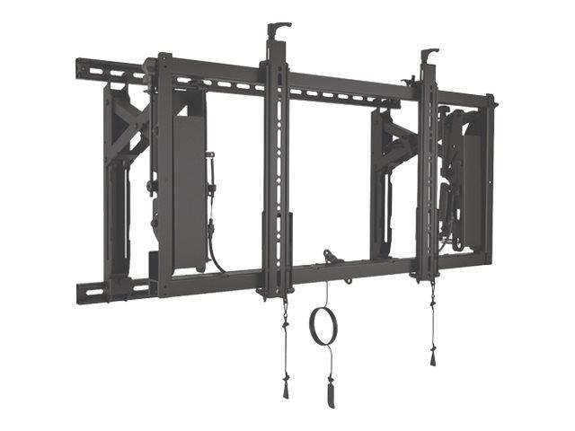 CHIEF ConnexSys – Componente di montaggio (binari di montaggio, adattatore VESA) per video wall – nero – dimensione schermo: 42″-80″ [ TT711777 ]