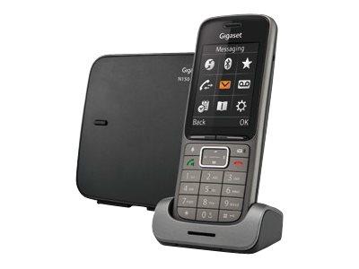 Gigaset SL750 PRO – Telefono cordless – interfaccia Bluetooth con ID chiamante – DECTGAP – grafite [ TT227324 ]