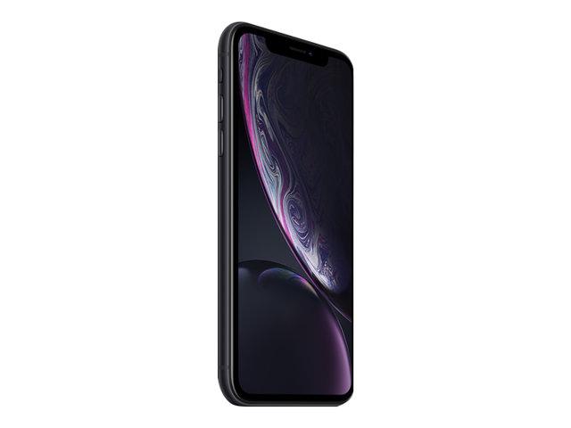 Apple iPhone Xr – Smartphone – dual SIM – 4G LTE Advanced – 128 GB – GSM – 6.1″ – 1792 x 828 pixel (326 ppi) – Liquid Retina HD display – 12 MP ( fotoecamera anteriore 7 MP ) – nero [ TT721503 ]