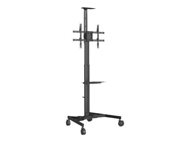 Vision VFM-F20 – Carrello per display LCD – acciaio per lavori gravosi – nero – dimensione schermo: 37″-70″ [ TT790554 ]