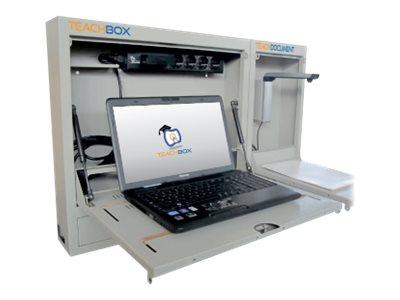 Wacebo Europe TeachBox – Unità cabinet per notebook / mouse – bloccabile – montabile a parete [ TT791333 ]